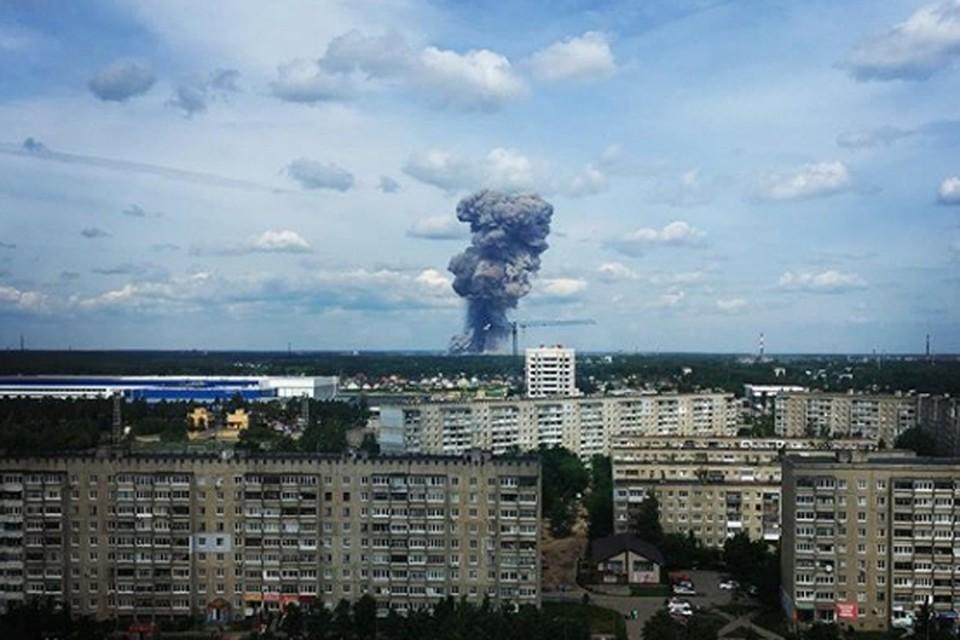 Два взрыва прогремели на заводе Свердлова в Дзержинске