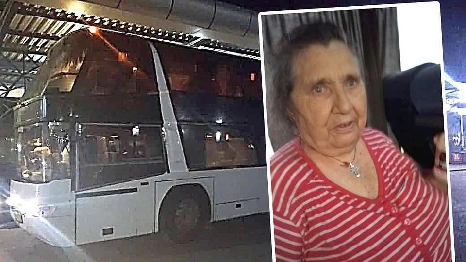 Обыкновенная дикость: В автобусе Москва-Кишинев 80-летняя пенсионерка всю ночь спала в проходе, потому что ей не разрешили сесть на сиденье