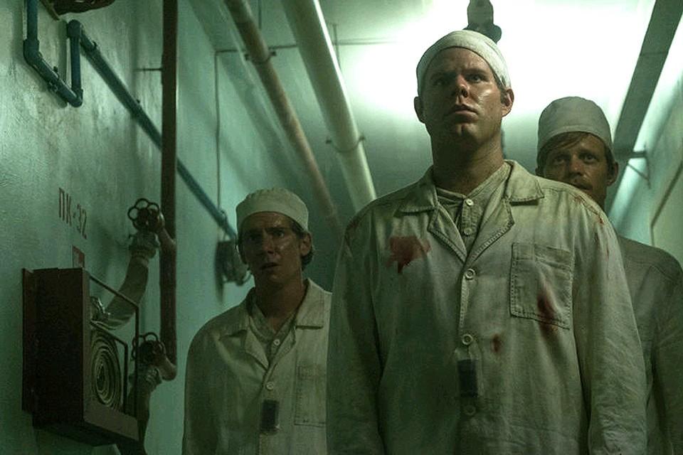 """Кадр из сериала """"Чернобыль"""" канала НВО."""