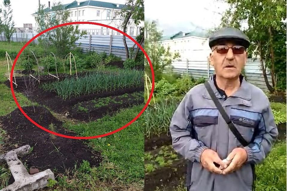 """Петр Андреевич рядом с """"местом преступления"""