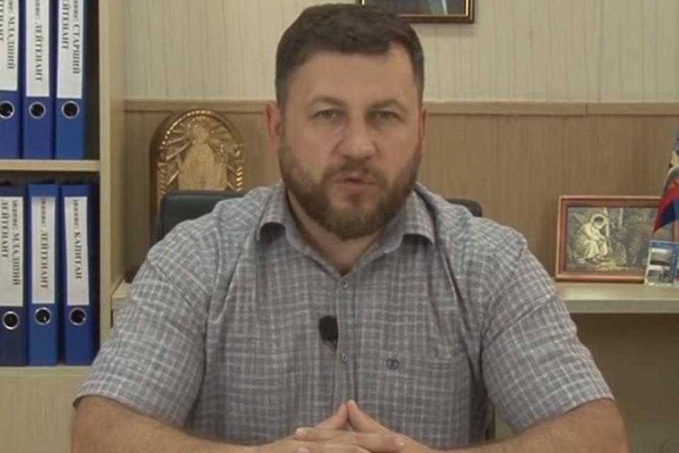Известный командир ополчения Виталий Киселев теперь занимается поиском украинских нацистов, совершивших преступления в Донбассе. Фото: youtube.com/ГТРКЛНР