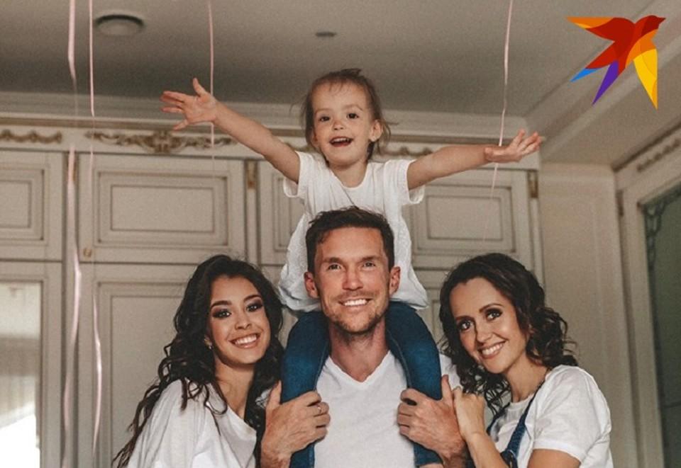У Александра Глеба родилась вторая дочь: «Саша - настоящий лидер, девочки у нас получаются отличные!» Фото: личный архив.