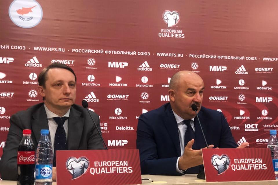 Станислав Черчесов: «Расслабона» в российской команде не было»