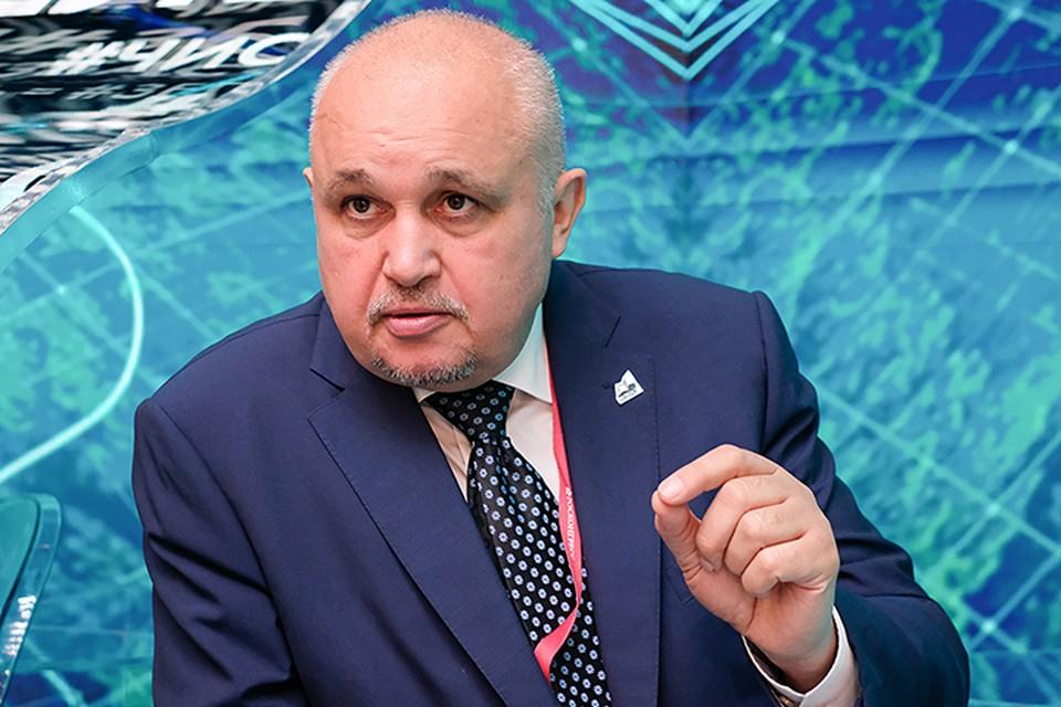 Что ждет Кемеровскую область? На площадке Петербургского международного экономического форума рассказал губернатор региона Сергей Цивилев
