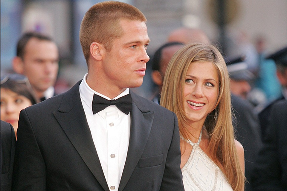 Брэд Питт и Дженнифер Энистон были женаты с 2000 по 2005 год