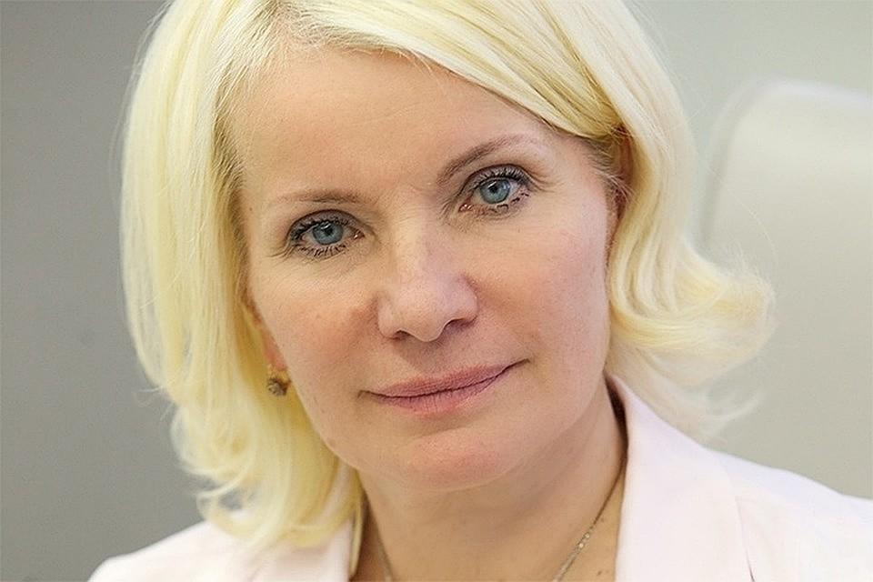 Дочь главы Счетной палаты попросила защиты у президента. На фото - Татьяна Давыденко. Фото: сайт Счетной палаты.
