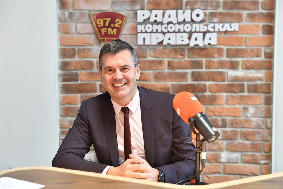 Генеральный директор АНО «Россия - страна возможностей» Алексей Комиссаров