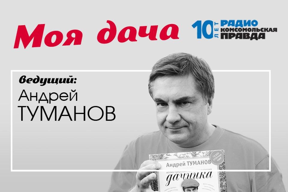 Главный дачник страны Андрей Туманов рассказывает, чем сейчас заняться в саду и на огороде