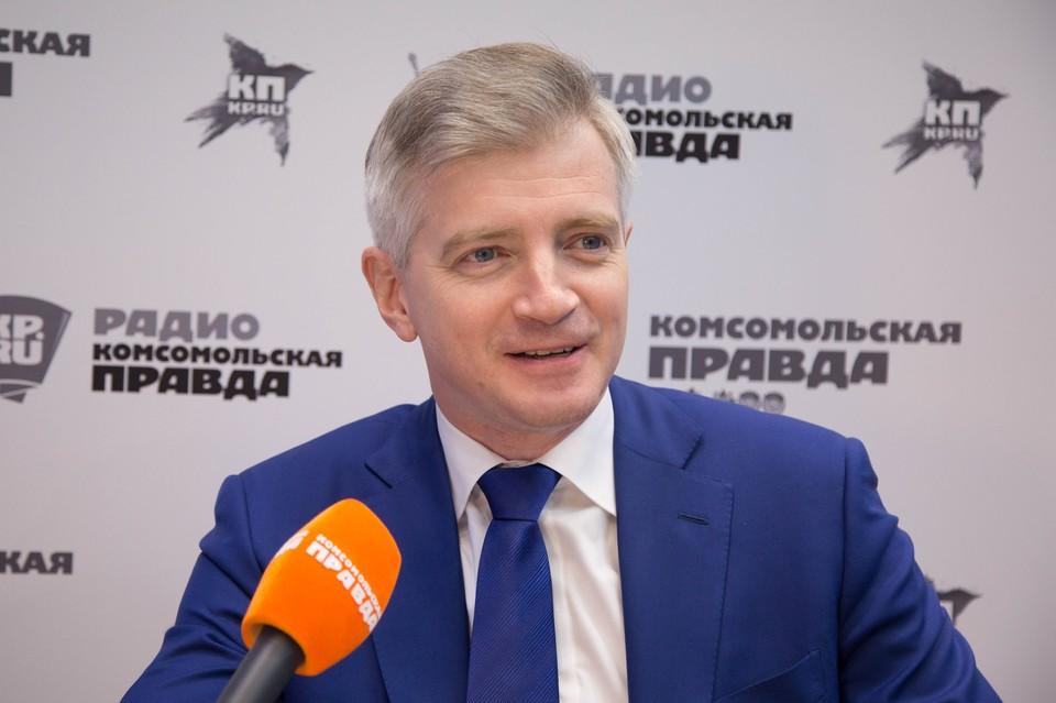 Глава департамента культуры Москвы Александр Кибовский.