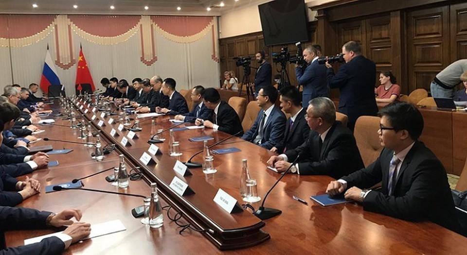 Генеральные прокуроры России и Китая встретились в Хабаровске Фото: с сайта Генеральной прокуратуры Российской Федерации