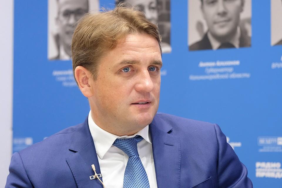 Заместитель министра сельского хозяйства России Илья Шестаков.