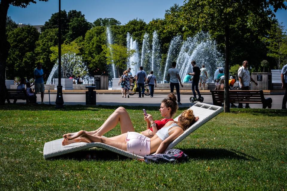 22 июня днем столбики термометров в Москве поднимутся до +32 градусов