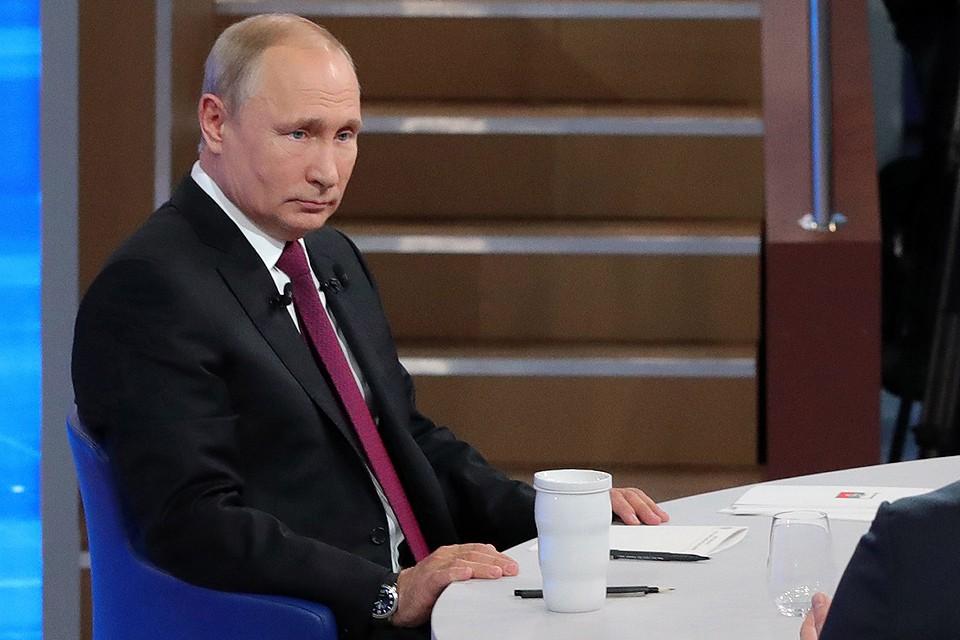 Президент РФ Владимир Путин. Фото: Михаил Клементьев/ТАСС