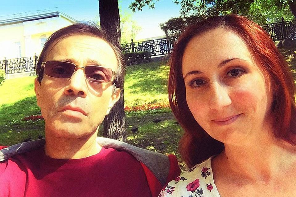 Андрей Харитонов с женой Ольгой
