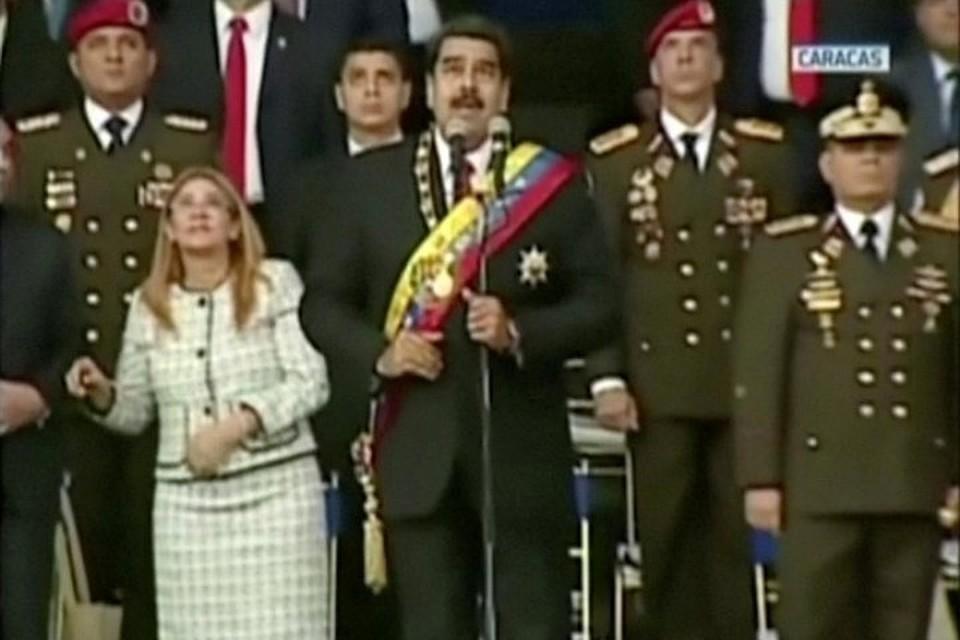 Президента Венесуэлы уже пытались убить.