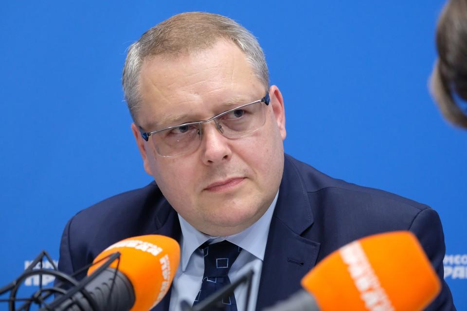 Вице-президент по корпоративным вопросам аффилированных компаний «Филип Моррис Интернэшнл» в России Сергей Слипченко.
