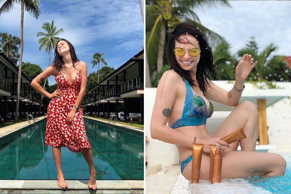 Настасья Самбурская отдыхает в Таиланде. Фото: Инстаграм.