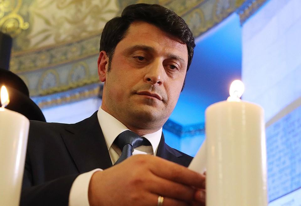 Герман Захарьяев во время главной молитвы в Московской хоральной синагоге. Фото Вячеслав Прокофьев / ТАСС