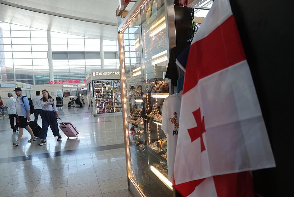 Запрет на прямые рейсы между Россией и Грузией вступит в силу 8 июля.