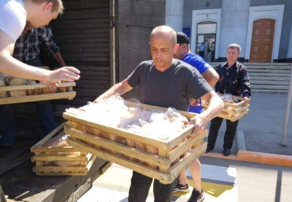 В хлебе нуждаются жители