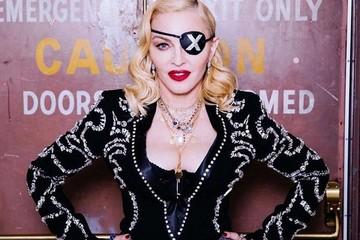 60-летняя  Мадонна в микро-шортах исполнила тверк вверх ногами
