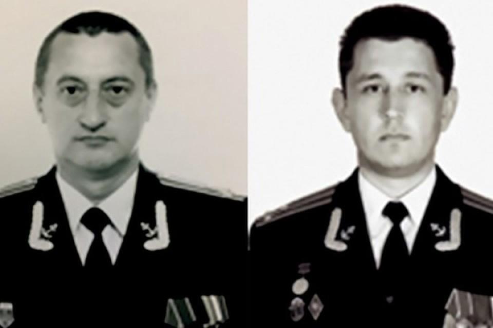 Владимир Абанкин (слева) и Андрей Воскресенский (справа). Фото: Минобороны РФ