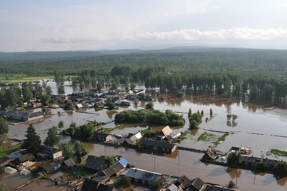 Наводнение в Иркутской области: Виталий Мутко подтвердил гибель 22 человек. Фото: ГУ МЧС России.