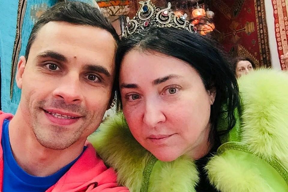 Лолита Милявская c пятым мужем Дмитрием Ивановым.