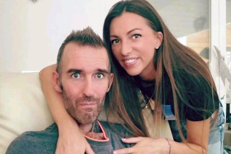 Фернандо Риксен с супругой Вероникой.