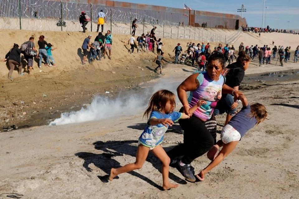 В Мексике задержали более 200 мигрантов из стран Центральной Америки