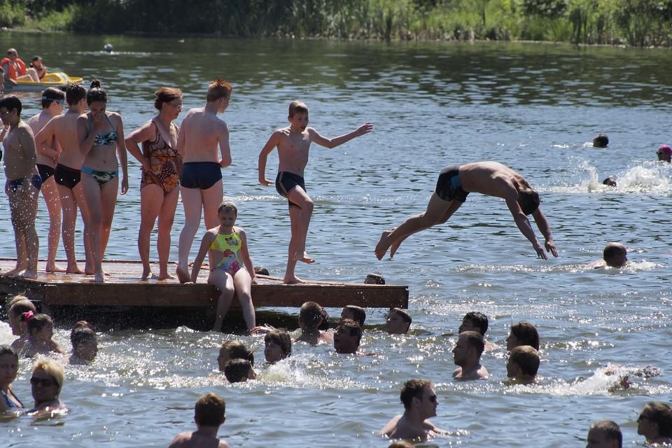 На воде будьте очень аккуратными!