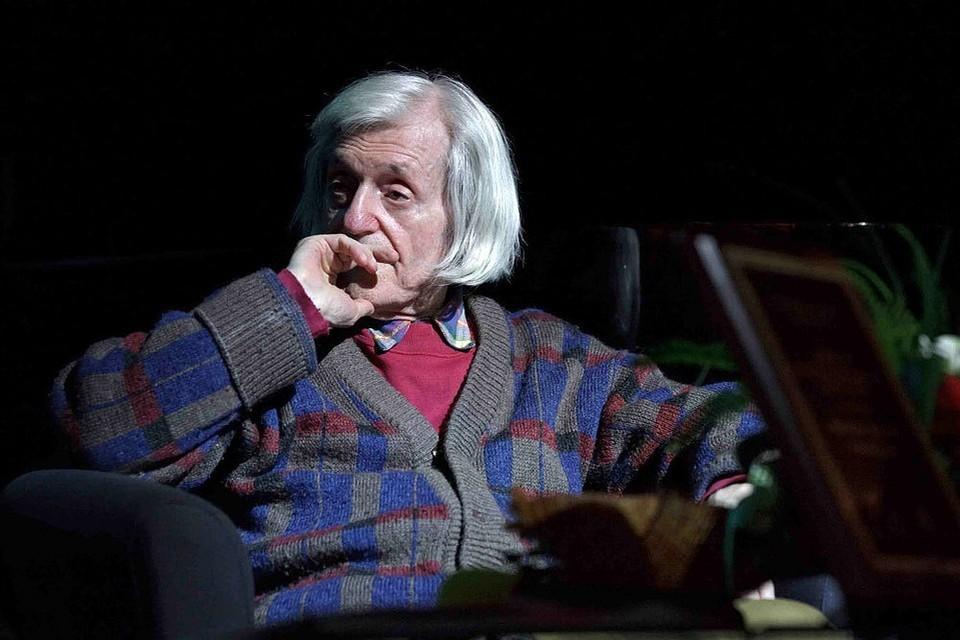 Виктор Соснора. Фото: сайт поэта