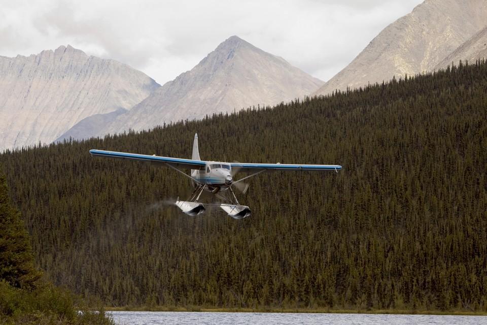 В Канаде разбился самолет-амфибия