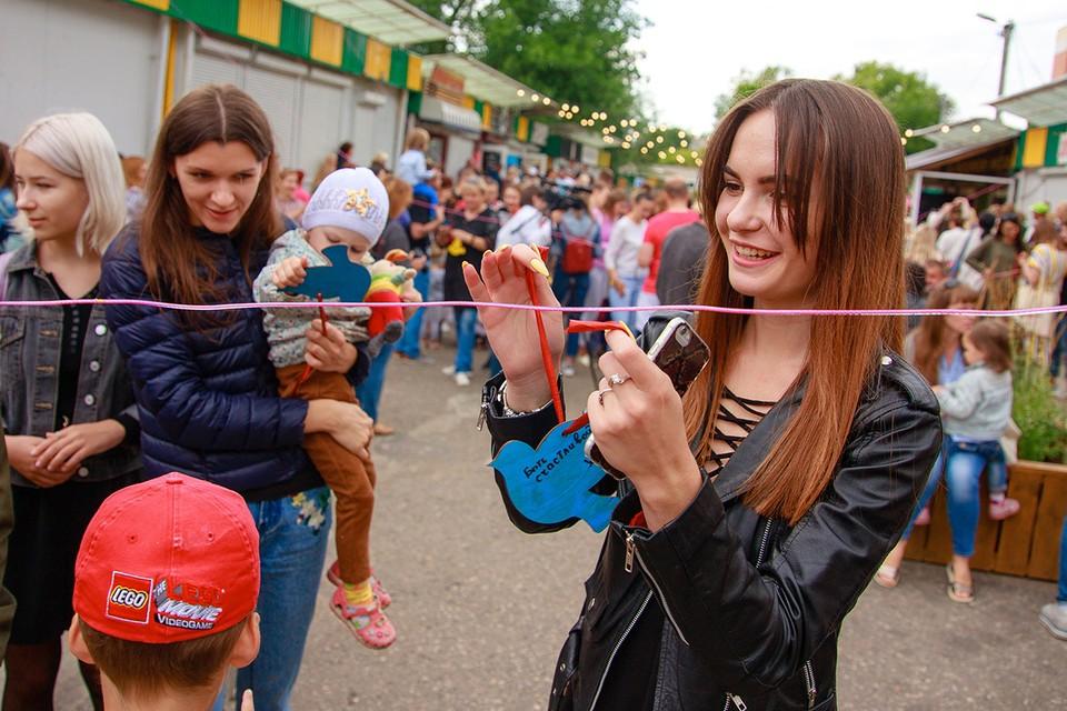 Улицу стрит-фуда открыли в Молодечно. Фото: предоставлено организаторами.