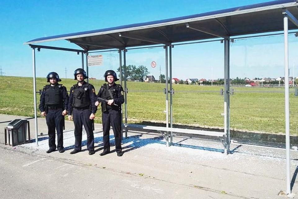 В Минске задержаны хулиганы, нападавшие на остановки общественного транспорта. Фото: mvd.gov.by