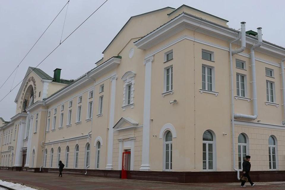 """Здание вокзала """"Барановичи-Полесские"""". Фото: Intex-press"""