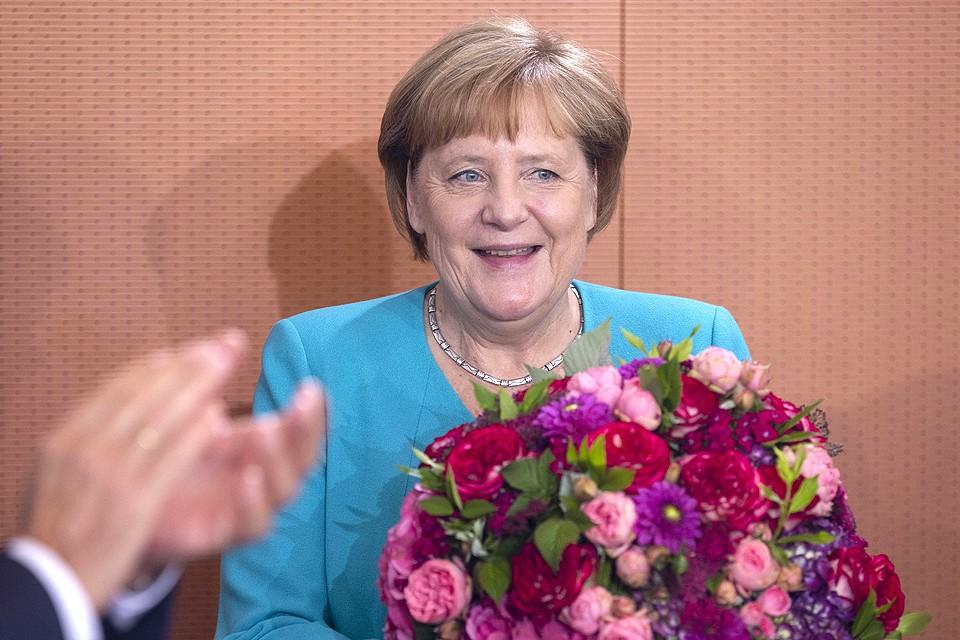 Ангела Меркель отмечает сегодня юбилей, канцлеру ФРГ исполняется 65 лет.