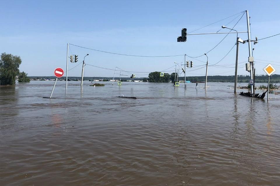 Наводнение в Иркутской области: восстановлено 250 участков дорог и 46 автомобильных мостов