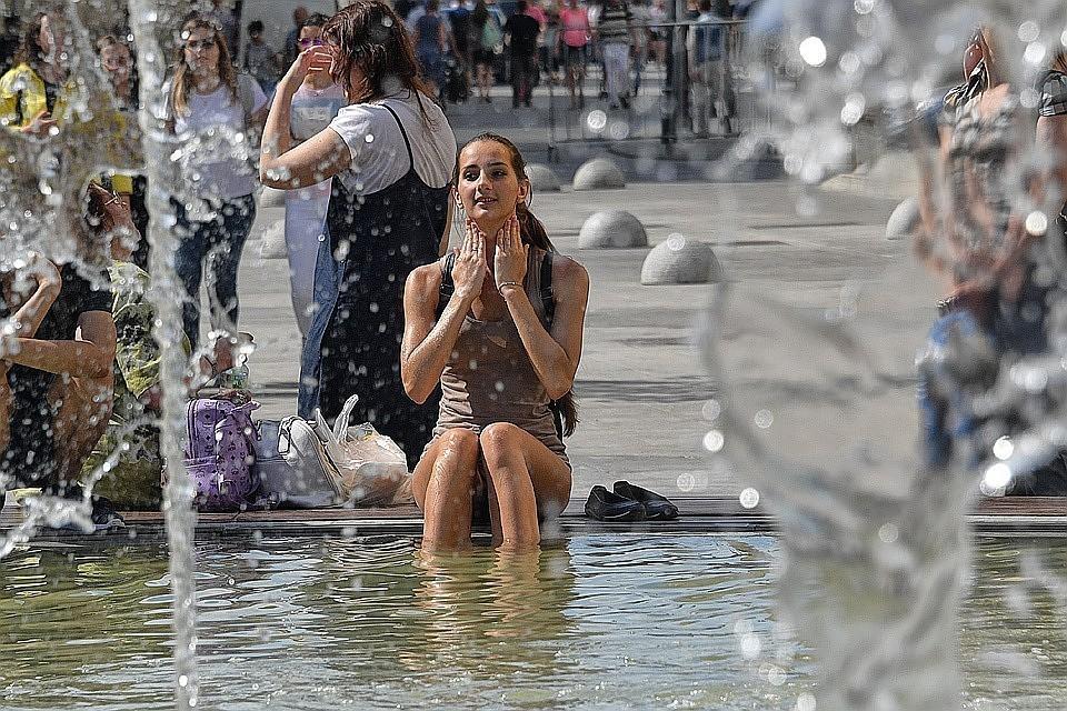 Температура воздуха во Франции побила все рекорды страны