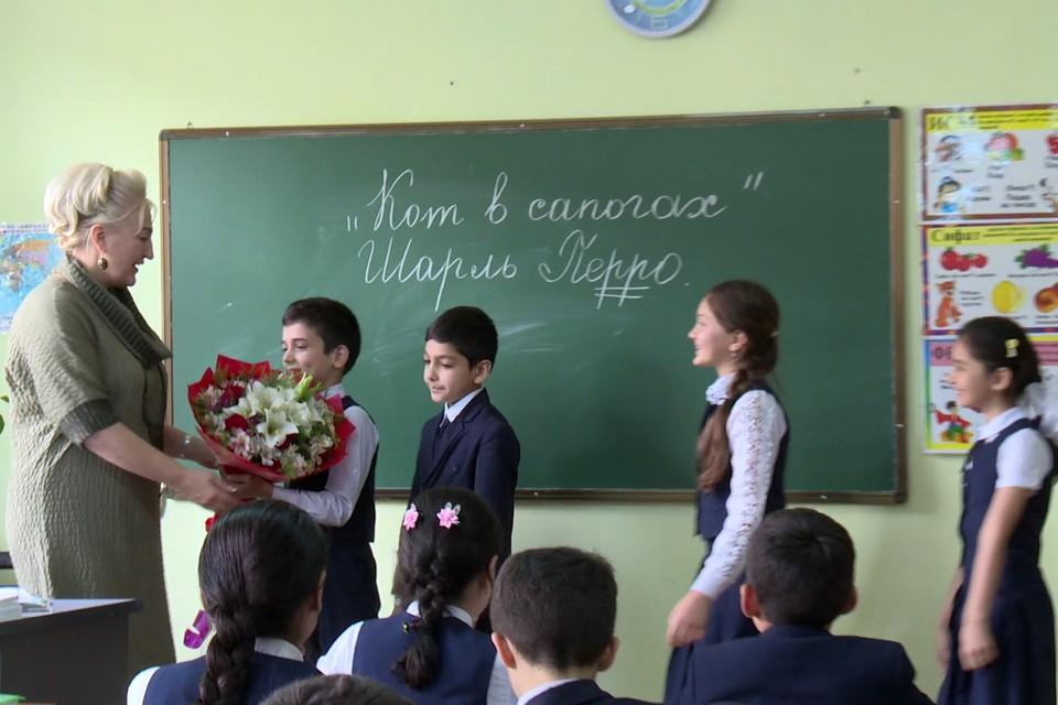 Фото предоставлено пресс-службой Министерства просвещения.