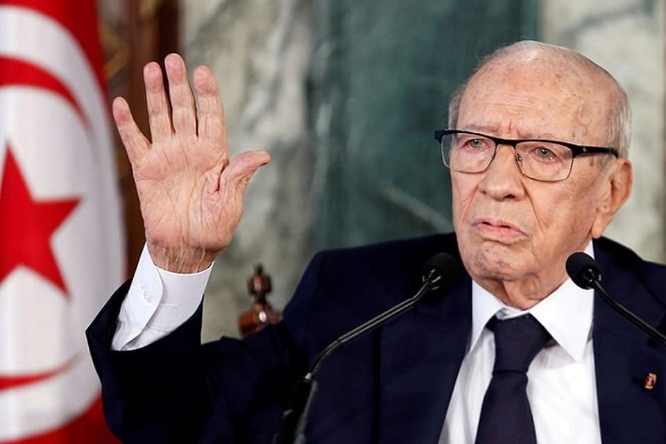 Бежи Каид ас-Себси был самым пожилым действующим президентом в мире. Фото: Рейтер.