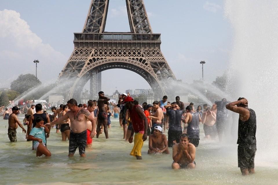 Жара в Париже