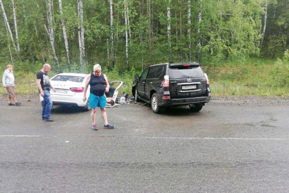 Бывший вице-губернатор Челябинской области Андрей Косилов попал в ДТП 28 июля.