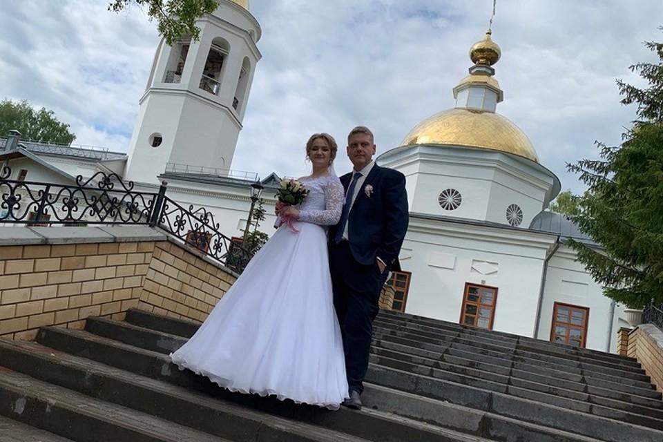 Недавно состоялась свадьба. Фото предоставил Алексей