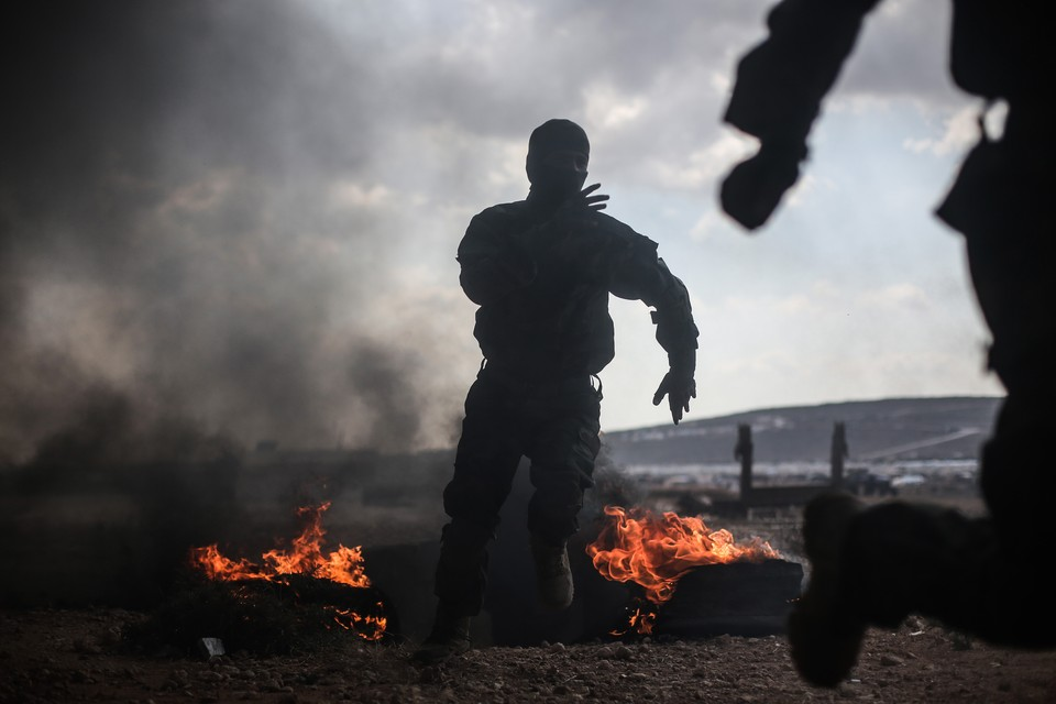 В Сирии при обстреле погиб один человек
