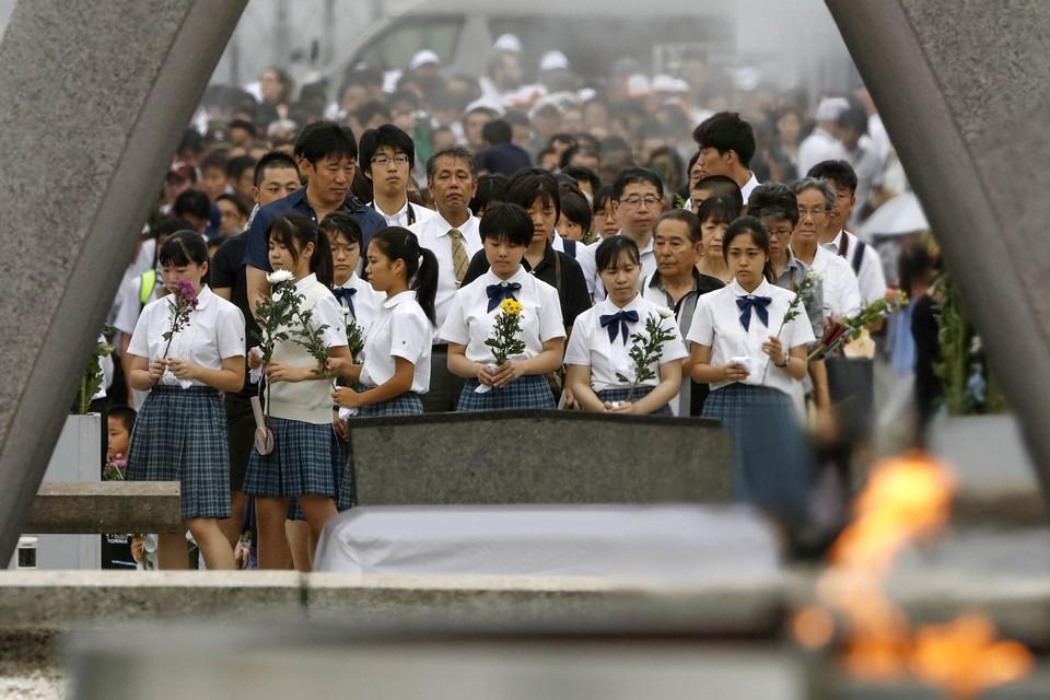 Памятные мероприятия, посвященные годовщине американской атомной бомбардировки Хиросимы, прошли в Японии