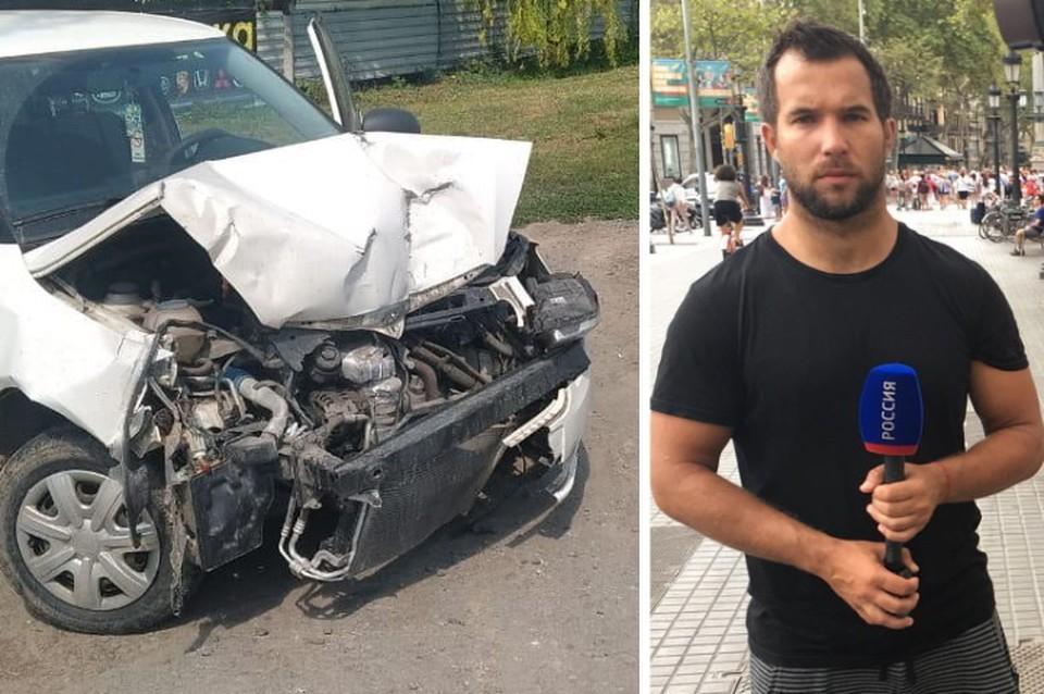 Иномарка Николая Соколова попала в ДТП, а после ее разбитую вернули обратно мастерам.