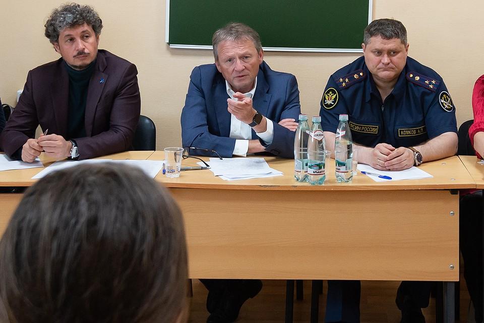 Борис Титов посетил единственный в Москве женский СИЗО.