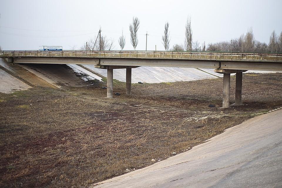 Воды в Северо-Крымском канале давно нет