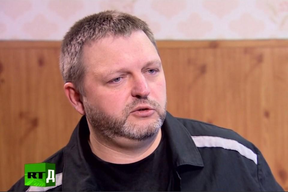 Никита Белых отбывает наказание в колонии строго режима. Скрин с видео russian.rt.com
